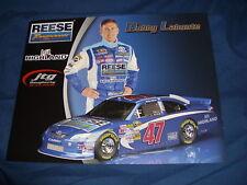 2011 BOBBY LABONTE #47 REESE TOWPOWER NASCAR POSTCARD