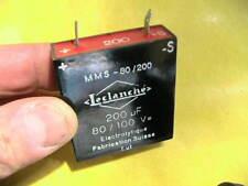 Kondensator 200uF 100V rechteckig Elektrolyt  4 Stück  9877
