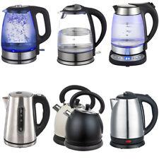 Wasserkocher Wasser Kocher Glas Edelstahl bis 2200W 1,8L 1,7L LED 10 Modelle