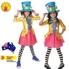 MAD HATTER GIRLS DELUXE COSTUME  CHILDREN BOOK WEEK SPECIAL