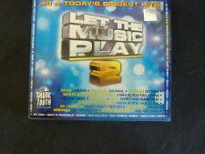 LET THE MUSIC PLAY 2 RARE DOUBLE CD! KLUB K3G KAAL SHAMUR KABHI MIKA RABBI SONA