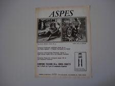 advertising Pubblicità 1972 MOTO ASPES NAVAHO CROSS CASA 50/HOPI 125 CROSS
