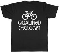 Cycologist qualificato bicicletta da uomo manica corta T-shirt