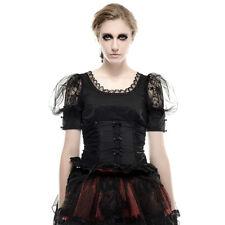 Pyon Pyon Le Fleur Noir Top Gothic Victoriaans Lolita Dolly Kei Theater LT-006