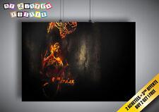 Poster Michael Jordan Dunk chicago Bulls 23 Wall Art