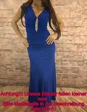 Abendkleid Cocktellkleid Abschlussballkleid Maxikleid Kleid Spaghettiträge 36-44