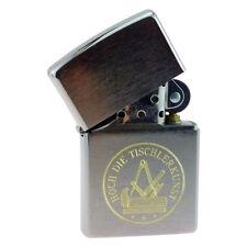Benzin-Sturm-Feuerzeug Tischler Handwerk & Zunft inkl. Textgravur & Design-Box