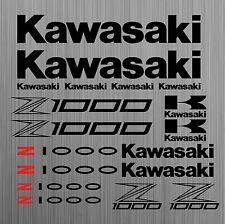 Kawasaki Z1000 aufkleber sticker motorrad motorcycle 18 Stücke Pieces
