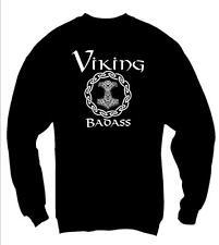 VIKING BADASS VIKING sweatshirt VIKING THEME GIFT