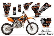 AMR MOTORCYCLE DECALS STICKER KIT KTM SX85/105 04-05 SH