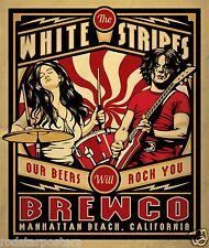 0442 Vintage Music Poster Art  White Stripes   *FREE POSTERS