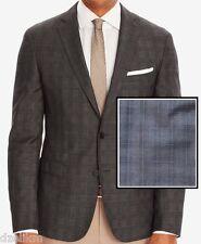 858f2b92 NWT $595 Hugo Boss Black Label Blazer Slim Fit Italian Wool Check Sport Coat