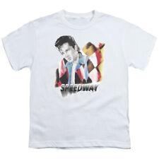 Elvis Presley Kids T-Shirt Speedway White Tee