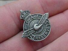ORIGINAL WWII RCAF RESERVE PIN / BADGE
