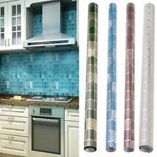 Mosaic Aluminum Foil Oil Proof Home Furniture Wall Vinyl Adhesive Contact Paper