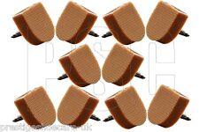 Onorevoli PU fai da te RICAMBIO Scarpa Tacco riparazione suggerimenti Tops Multi COPPIE Nautral UK Fatto