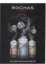 PUBLICITE ADVERTISING 2011 Eau de ROCHAS  fraiche sensuelle