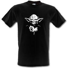 DJ YODA STAR WARS FILM Heavy Cotton T-shirt Sizes from Small to XXL
