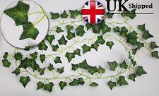 Artificial English Ivy Garland Vine garden Fake wedding Halloween 2m (6ft 5)