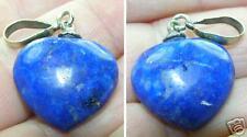 #4 24.20ct Afghanistan 100% Natural Lapis Lazuli Heart Shape Pendant 4.80g 19mm