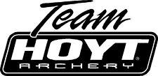 Team Hoyt Archery Vinyl Sticker BOW HUNTING BEAR DEER ELK TRUCK CAR OUTDOORS