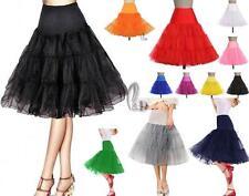"AU SELLER 26"" Retro 50s Underskirt Rockabilly Bridal Petticoat Dance Tutu da018"