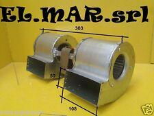 Ventilatore Centrifugo DOPPIO Motore elettrico 130 W Monofase Aspiratore