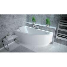 Offset Corner Bath *PRAKTIKA* SPACE SAVER 1400 x 700mm 140 X 70 + POP UP WASTE