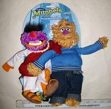 "Animal And Fozzie Muppets Mayhem Stuffed Animal Plush Toy 10"" Tall Cute!"