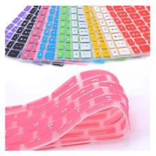 Protège clavier QWERTY pour macbook PRO et AIR 11 12 13 15 17 pouces silicone