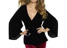 Felina Women's Radiant Short Velvet Kimono - 750067