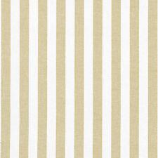 CHAMBRAY YARN DYED COTTON BEIGE WHITE FABRIC SHIRTS DRESS CURTAIN BEDDING 44'W