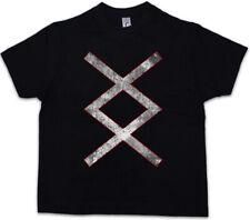 INGUZ RUNE Kids Boys T-Shirt Ingwaz Ing Enguz Iggws Valhalla Odin Norse Vikings