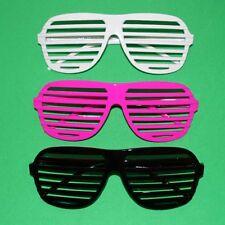 Weiße Atzenbrille Porno Jalousie Gitter Atzen Brille Partybrille Faschingsbrille