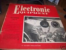 Electronic Equipment Magazine October 1955 (OS)