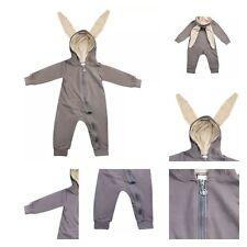 Toddler Infant Baby Girl Boy 3D Ear Bunny Rabbit Romper Jumpsuit Playsuit Outfit