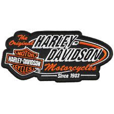 """Harley Davidson Aufnäher Modell """" The Original """" Größe ca. 15,4 cm auf 8,0 cm"""
