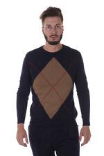 Maglia Daniele Alessandrini Sweater -55% Rombo Italy Uomo Blu FM91763607-23