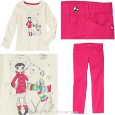 NWT Gymboree Sz 5 COLOR HAPPY Kid Girls 2pc lot Polar Bear Top /& Pink Pants TWIN