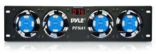"ALIN-PFN41-Pyle-Pro PFN41 19"" Rack Mount Cooling Fan System W/Temperature Displ"