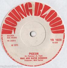 "Mac And Katie Kissoon - Pigeon 7"" Single 1971"