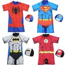 Cartoon superhero children's swimsuit Boy Siamese Swimsuit