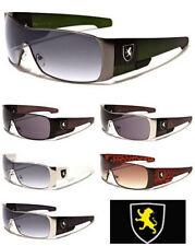 New Mens Khan Designer Sport Sunglasses Shield Biker Driving