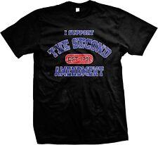 I Support The Second 2nd Amendment Est 1791 Conceal Carry Pro-gun  Mens T-shirt