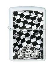Zippo Race Car Checker Flag auf Wunsch mit persönlicher Gravur 2002401 Neu
