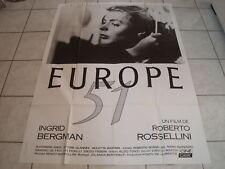 AFFICHE  INGRID BERGMAN....EUROPE 51, cine classic, res