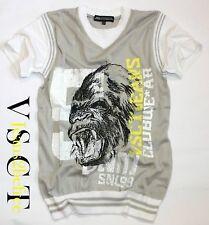 double Look by VSCT T-Shirt *Gorilla Slipover Tee grey* Shirt Pullunder *Neu