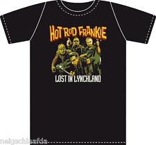 Hot Rod frankie-lynchland t-shirt, negro S-XXL meteorito Demented Mad Sin