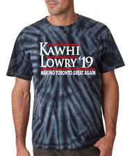 "Tie-Dye Kawhi Leonard Kyle Lowry Toronto Raptors ""19""    T-Shirt"