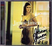 Janine Jansen firmato Vivaldi Quattro stagioni Four Seasons CD Julian Rachlin